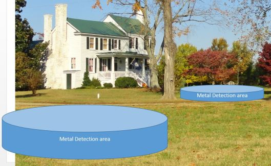 Metal Detection areas 2013